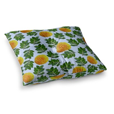 Sreetama Ray More Marigold Square Floor Pillow Size: 23 x 23