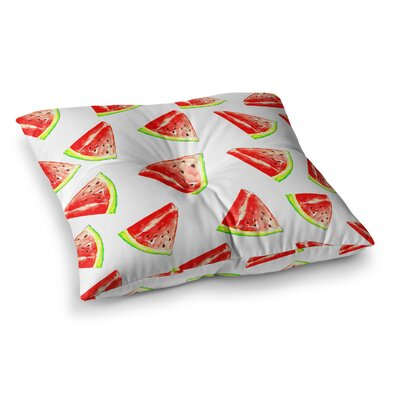 Sreetama Ray Summer Fun Watermelon Square Floor Pillow Size: 26 x 26