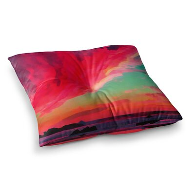 Oriana Cordero Apetto Allalba Square Floor Pillow Size: 26 x 26