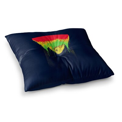 BarmalisiRTB Began Closed Square Floor Pillow Size: 23 x 23