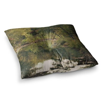 Sylvia Coomes in the Woods 3 Photography Square Floor Pillow Size: 26 x 26