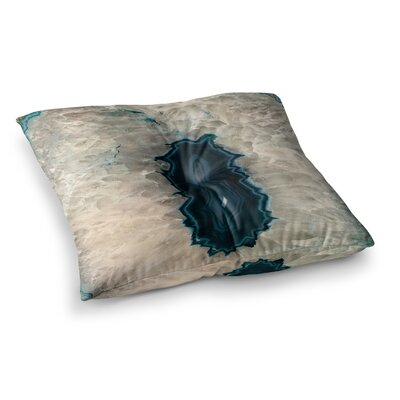 Sylvia Cook Quartz Geological Square Floor Pillow Size: 26 x 26