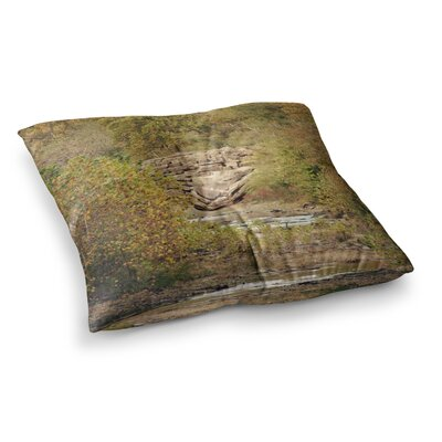 Sylvia Coomes in the Woods 4 Nature Square Floor Pillow Size: 23 x 23