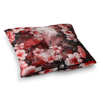 Shirlei Patricia Muniz Garden Secret Square Floor Pillow Size: 23 x 23
