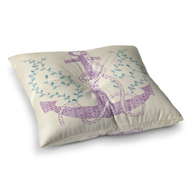 Pom Graphic Design Tribal Nautica II Square Floor Pillow Size: 23 x 23