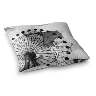 Sylvia Coomes Ferris Wheel Square Floor Pillow Size: 23 x 23