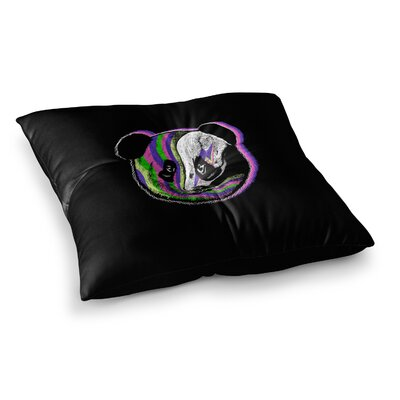 BarmalisiRTB Fused Animal Square Floor Pillow Size: 23 x 23