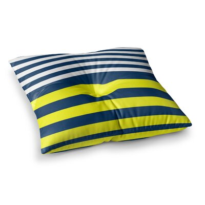 Trebam Nauticki Square Floor Pillow Size: 23 x 23