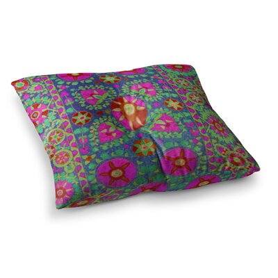 S Seema Z Kashmeer Love Pattern Square Floor Pillow Size: 23 x 23
