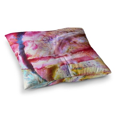 Malia Shields Universe Series #3 Square Floor Pillow Size: 26 x 26