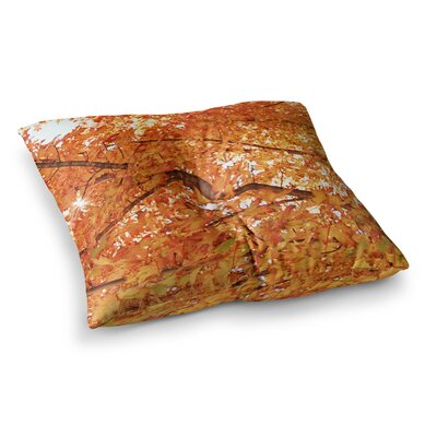 Sylvia Coomes Fall Folioge Square Floor Pillow Size: 23 x 23