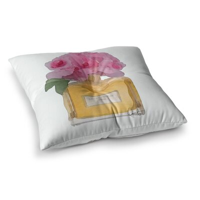 Oriana Cordero Eau De Parfum V3 Square Floor Pillow Size: 26 x 26