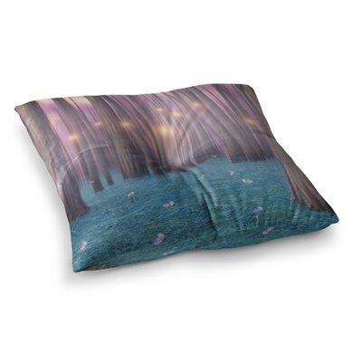 Viviana Gonzalez Feather Dance Digital Square Floor Pillow Size: 26 x 26
