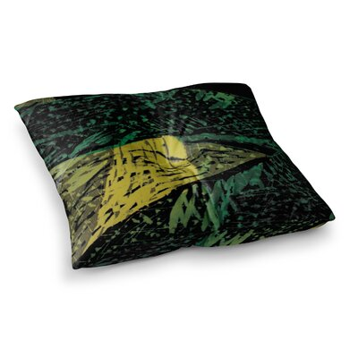 Theresa Giolzetti Family 2 Square Floor Pillow Size: 23 x 23, Color: Gold