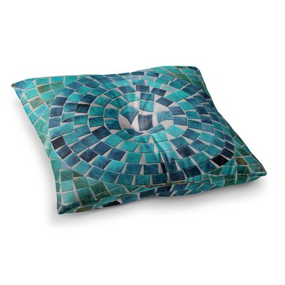 Sylvia Cook Circular Square Floor Pillow Size: 23 x 23