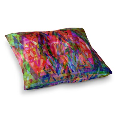 Suzanne Carter Geo-Prism Square Floor Pillow Size: 23 x 23