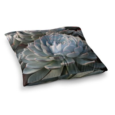 Suzanne Carter Succulent Love Square Floor Pillow Size: 23 x 23