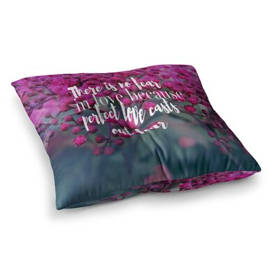 Robin Dickinson When Pigs Fly Digital Square Floor Pillow Size: 26 x 26