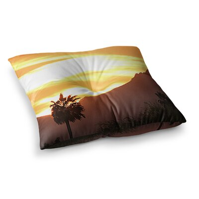 Sylvia Coomes Tucson Sunset Square Floor Pillow Size: 23 x 23
