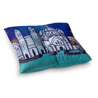 Theresa Giolzetti Venice Square Floor Pillow Size: 23 x 23