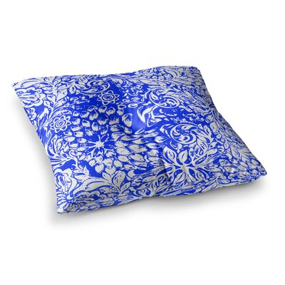 Vikki Salmela Bloom for You Square Floor Pillow Size: 23 x 23