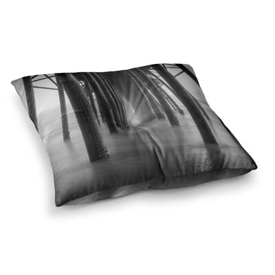 Juan Paolo Vanishing Point Coastal Photography Square Floor Pillow Size: 23 x 23