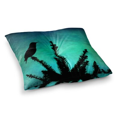 Sylvia Coomes Bird Silhouette Square Floor Pillow Size: 23 x 23