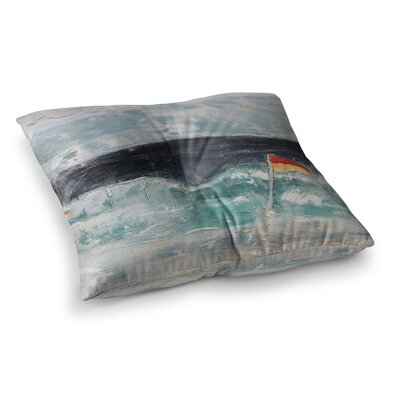 Steve Dix Great Pacific Pty Ltd Square Floor Pillow Size: 23 x 23