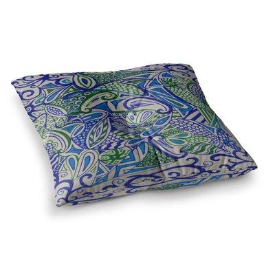 Rosie Brown Zengle Square Floor Pillow Size: 23 x 23