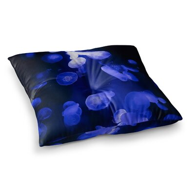 Juan Paolo Jellyfish Square Floor Pillow Size: 26 x 26
