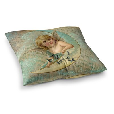 Suzanne Carter Angel Square Floor Pillow Size: 26 x 26