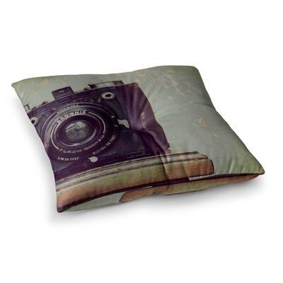 Robin Dickinson Time Square Floor Pillow Size: 23 x 23
