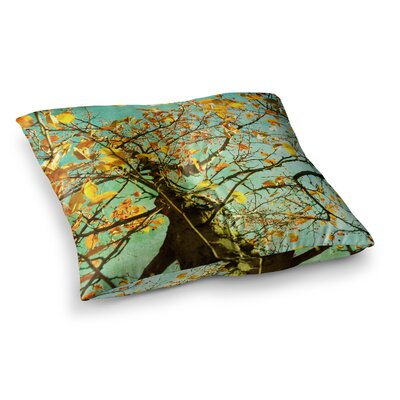 Sylvia Coomes Autumn Tree Square Floor Pillow Size: 26 x 26