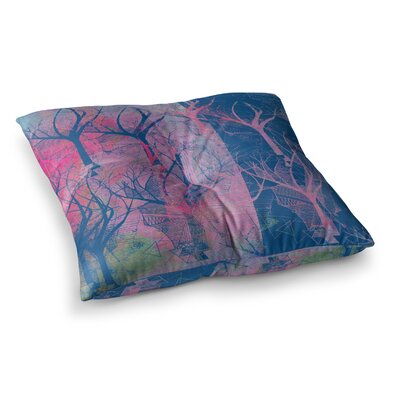 Marianna Tankelevich Fantasy Garden Square Floor Pillow Size: 23 x 23