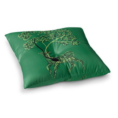 Tobe Fonseca Nectar Deer Square Floor Pillow Size: 23 x 23