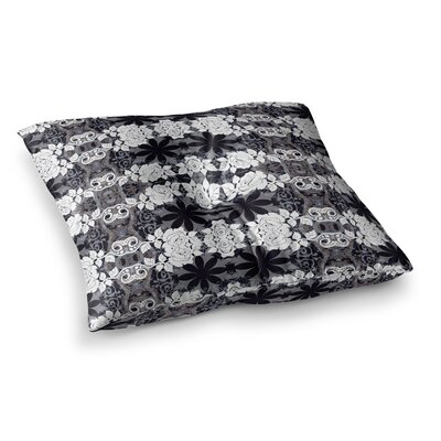 Suzanne Carter Lacey Square Floor Pillow Size: 26 x 26