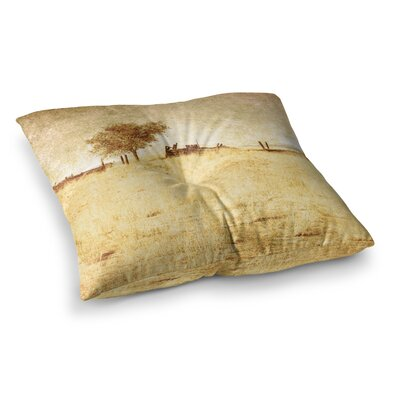 Sylvia Coomes One Tree Square Floor Pillow Size: 23 x 23