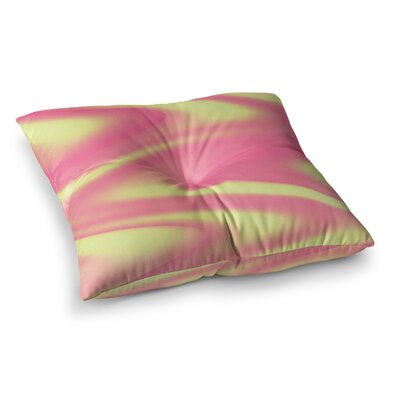 Sylvia Coomes Sherbert Swirl Square Floor Pillow Size: 23 x 23