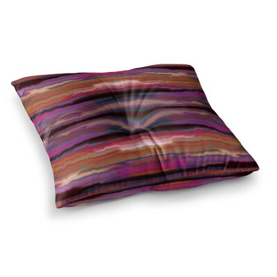 Nina May Sola Square Floor Pillow Size: 26 x 26, Color: Purple
