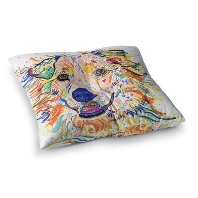 Rebecca Fischer Jess Square Floor Pillow Size: 23 x 23