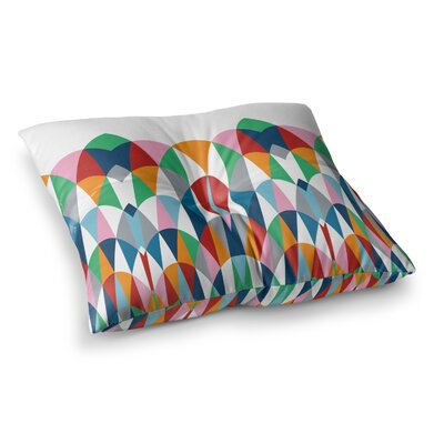 Project M Modern Day Arches Square Floor Pillow Size: 26 x 26