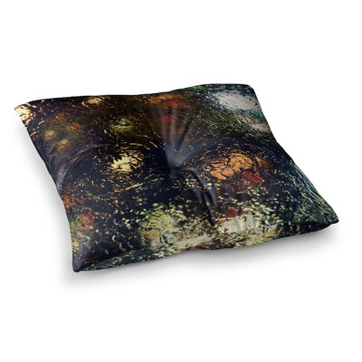Robin Dickinson Blinded Water Square Floor Pillow Size: 26 x 26