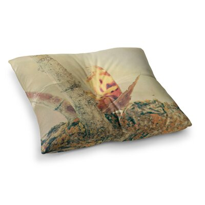Sylvia Coomes Monarch Butterfly Photography Nature Square Floor Pillow Size: 23 x 23