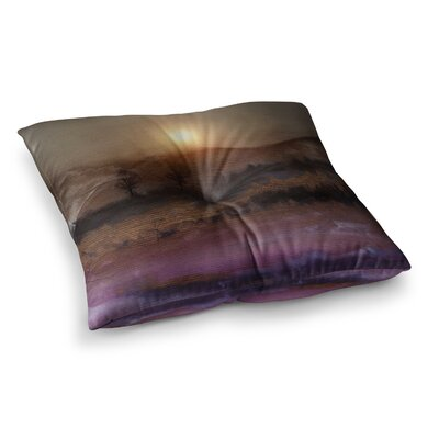 Viviana Gonzalez Calling the Sun V Square Floor Pillow Size: 26 x 26