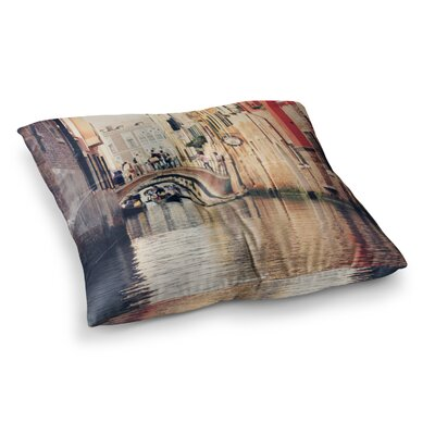 Sylvia Coomes Venice 10 Square Floor Pillow Size: 26 x 26