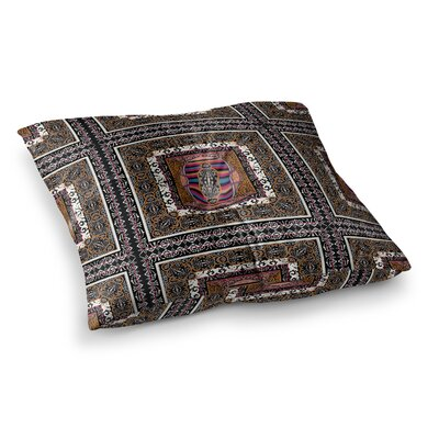 Victoria Krupp Tibet Mandala Illustration Square Floor Pillow Size: 26 x 26