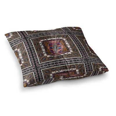 Victoria Krupp Tibet Mandala Illustration Square Floor Pillow Size: 23 x 23