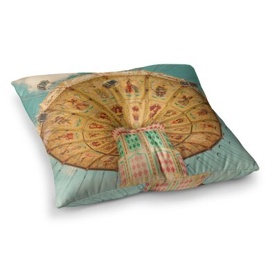 Snap Studio Butterflies Chalk Square Floor Pillow Size: 26 x 26