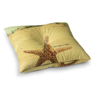 Robin Dickinson Once Upon a Time Starfish Square Floor Pillow Size: 26 x 26