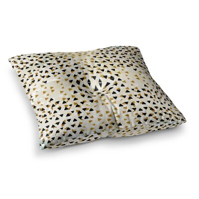 Pom Graphic Design Sky Square Floor Pillow Size: 26 x 26, Color: White